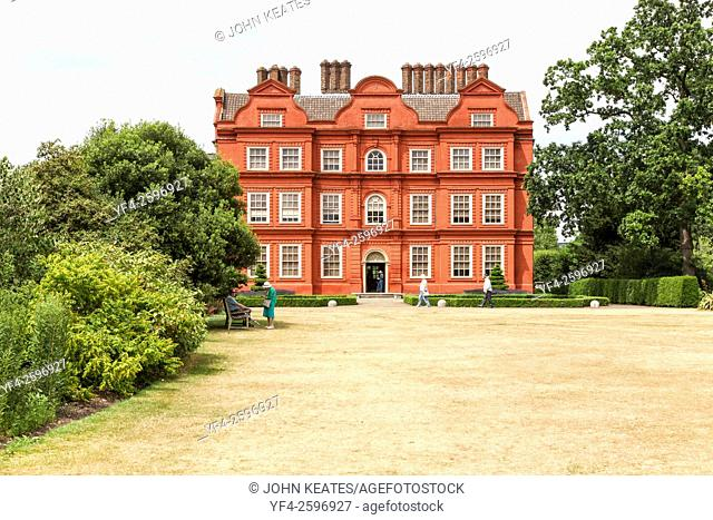 Kew Palace or The Dutch House is a British royal palace in Kew Gardens London England UK