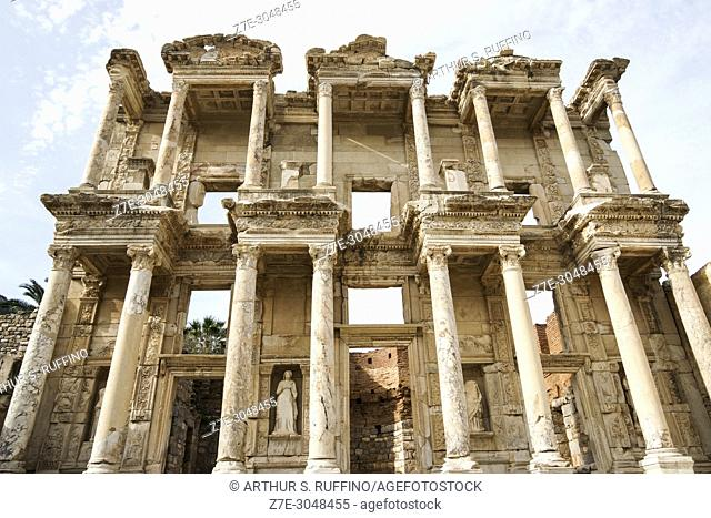 Library of Celsus. Ephesus, UNESCO World Heritage Site, Selçuk, Izmir Province, Ionia Region, Turkey, Eurasia