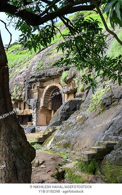 Chaityagriha at Bhaja Caves XII, Maharashtra, India