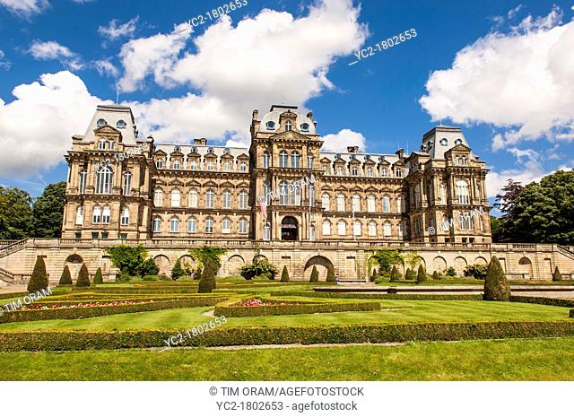 The Bowes Museum in Barnard Castle , County Durham , England , Britain , Uk