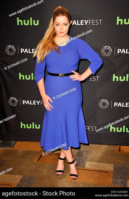 Sasha Pieterse at the 34th Annual PaleyFest Los Angeles presentation of 'Pretty Little Liars' held at the Dolby Theatre in Hollywood, USA on March 25, 2017