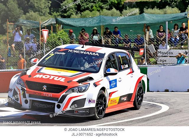 WTCR 2018: Vila Real. Race of Portugal, Pratice Action, Comte, Peugeot 308 TCR #7