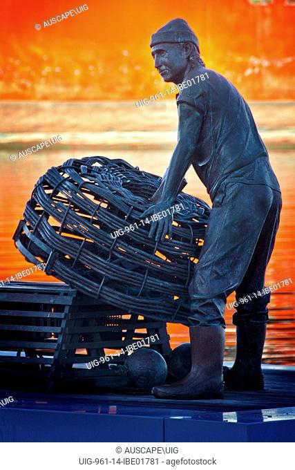 A tribute to fishermen, Fremantle, Australia