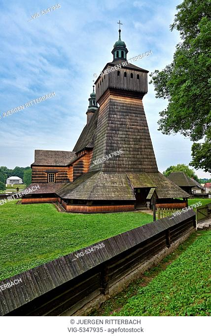 Church of the Assumption of Holy Mary and St. Michael's Archangel, Haczow, Poland - Haczow, Poland, 23/06/2015