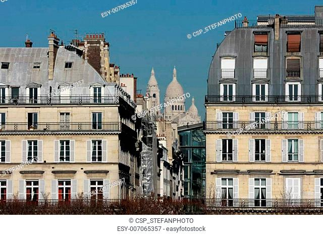 Haussman-style buildings in Paris