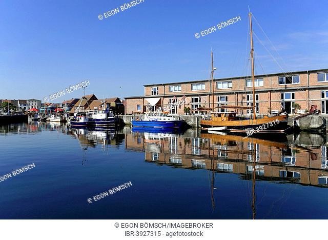 Old harbour, Wismar, Mecklenburg-Western Pomerania, Germany
