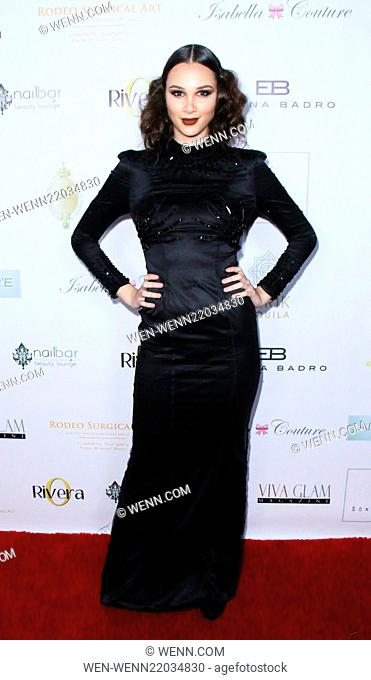 Academy of Couture Art presents 'Nuit Divine' - Arrivals Featuring: Kenna Alastair Where: Beverly Hills, California, United States When: 19 Dec 2014 Credit:...
