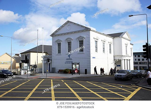 the courthouse on main street letterkenny county donegal republic of ireland