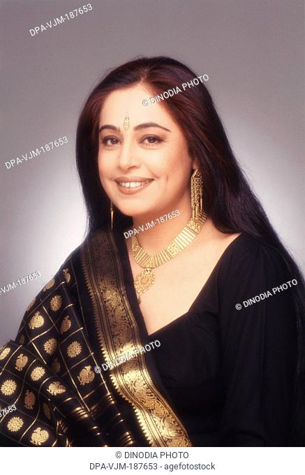 1995, Portrait of Indian film actress Kiron Kher