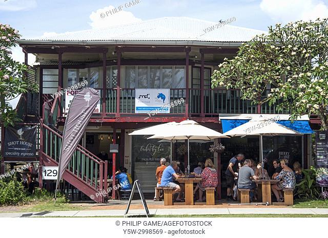 Folksy cafe at Mooloolaba, Sunshine Coast, Queensland, Australia