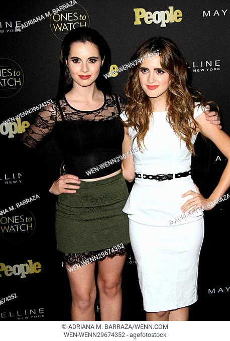 People's One's To Watch Event Celebrating Hollywood's Rising & Brightest Stars held at E.P. & L.P. in Los Angeles Featuring: Vanessa Marano