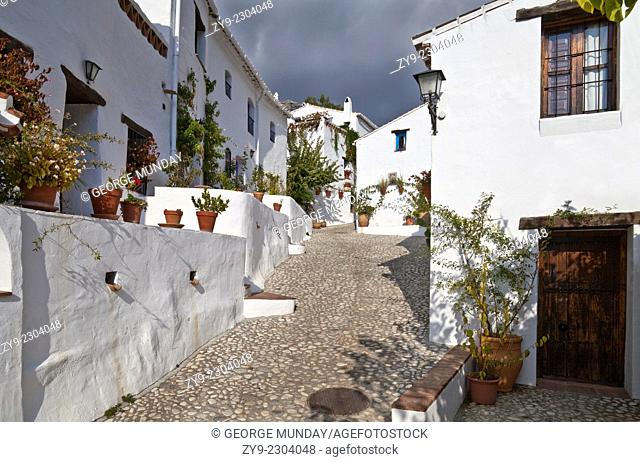 """El Acebuchal – """"the Lost Village"""" and """"the Ghost Village – el Pueblo Fantasma,"""""""