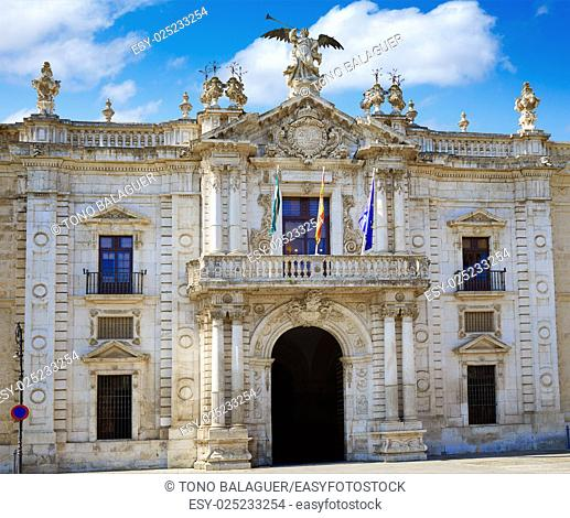 Universidad de Sevilla university of Seville in Andalusia Spain