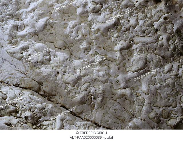 Rocky surface, extreme close-up