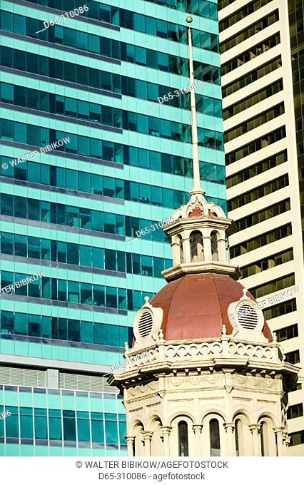 Detail of James Short Park cupola (built 1886), downtown architecture. Calgary. Alberta, Canada
