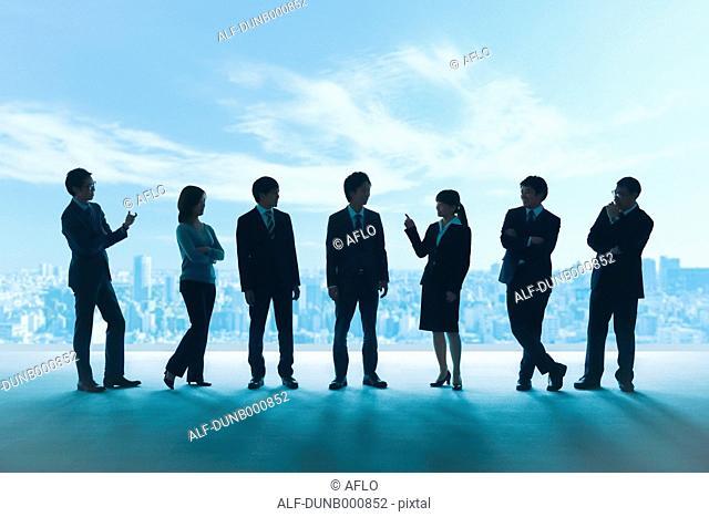 Japanese businesspeople