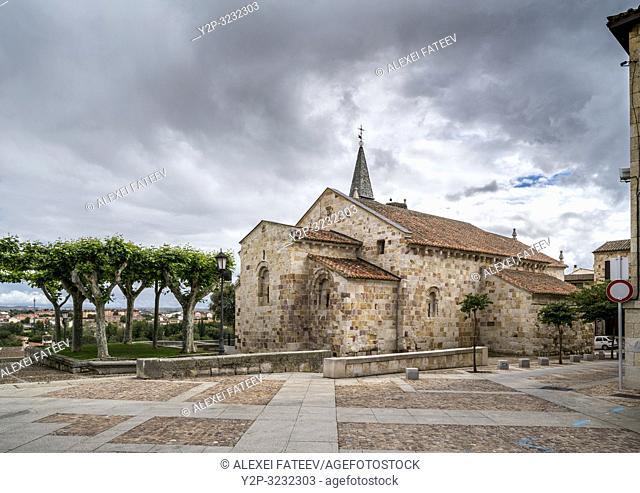 Church of San Cipriano in Zamora, Castile and Leon, Spain