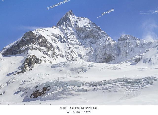 Matterhorn West side view. Zermatt, Switzerland, Europe