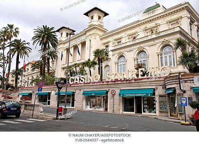 Casino Sanremo, San Remo, Italy