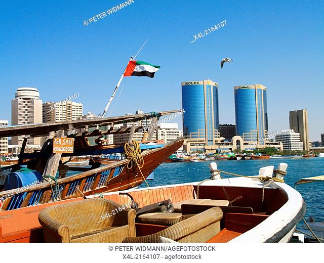 Dubai Creek, Twin Towers, United Arab Emirates, Dubai