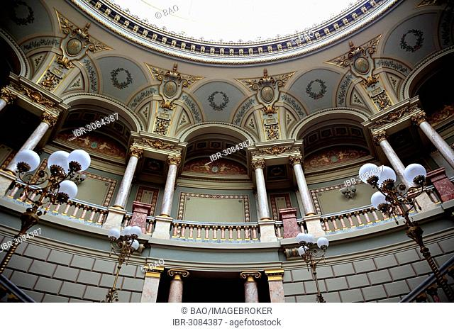 The Romanian Athenaeum, Bucharest, Bucure?ti, Romania