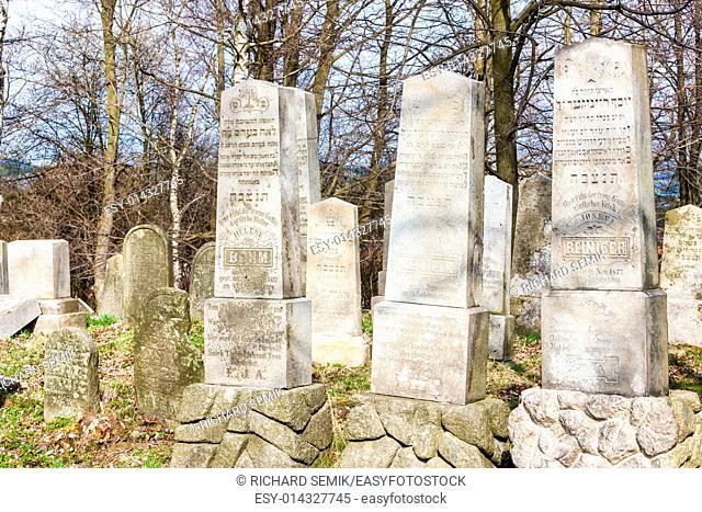 Jewish cemetery, Batelov, Czech Republic
