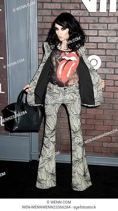New York premiere of 'Vinyl' at Ziegfeld Theatre - Arrivals Featuring: Stacey Bendet Where: New York, New York, United States When: 15 Jan 2016 Credit: WENN