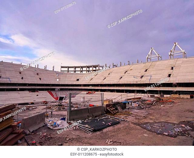 New San Mames Stadium Construction in Bilbao