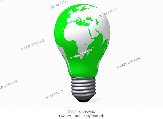 3D ecology clip-art - great for topics like pollution, recycling, environment, bio products etc