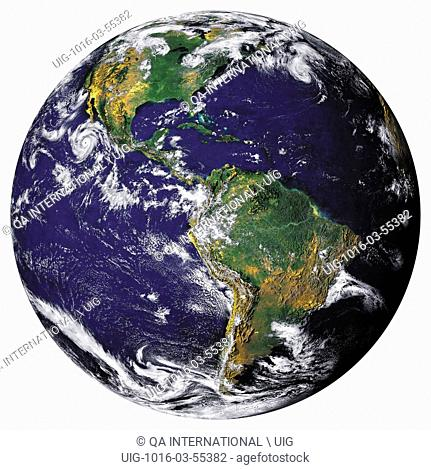 Earth is one of the four rocky planets in the solar system. Each cubic meter of the planet weighs an average of 5.5 tonnes