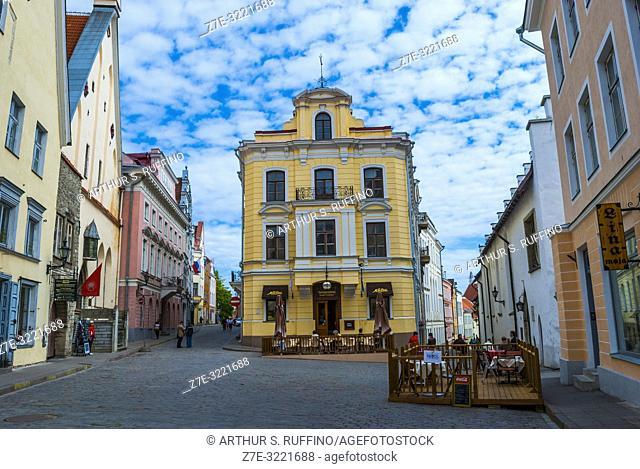 Café Maiasmokk (oldest café in Tallinn). Old Town, Tallinn, Estonia, Baltic States