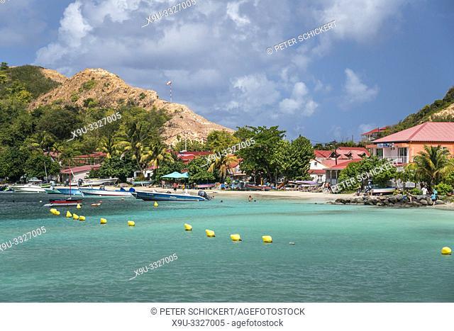 Strand Anse du Fond Cure, Insel Terre-de-Haut, Les Saintes, Guadeloupe, Karibik, Frankreich   Anse du Fond Cure beach, Terre-de-Haut, Les Saintes, Guadeloupe