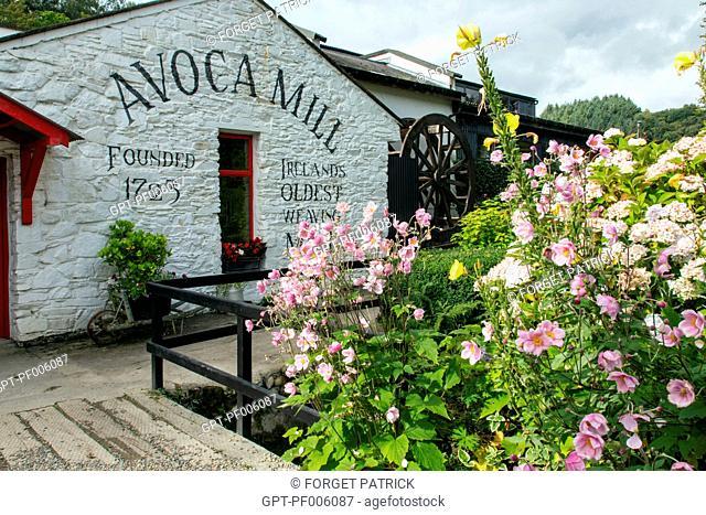 HAND-WOVEN FABRICS, AVOCA MILL, WICKLOW COUNTY, IRELAND