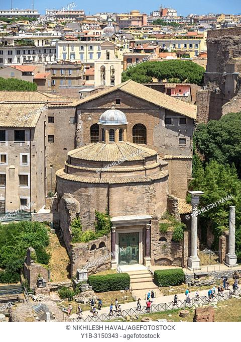 Temple of Romulus, Rome, Italy