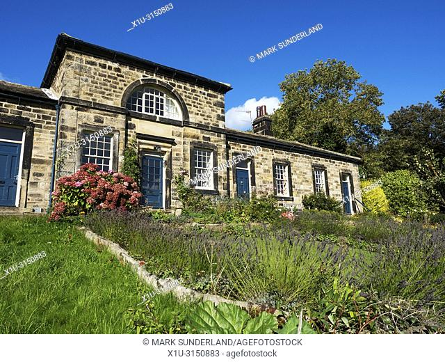 Former Almshouses at Leathley in the Washburn Valley North Yorkshire England