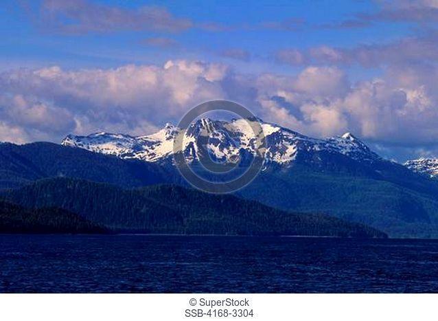 Usa, Alaska, Inside Passage, Frederick Sound, Near St. Petersburg