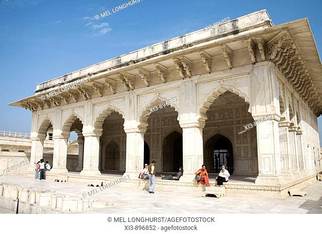 The Khas Mahal, Agra Fort, also known as Red Fort, Agra, Uttar Pradesh, India
