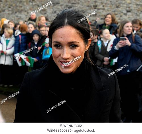 Prince Harry and Meghan Markle visit Cardiff Castle during their first visit to Wales together Featuring: Meghan Markle Where: Cardiff