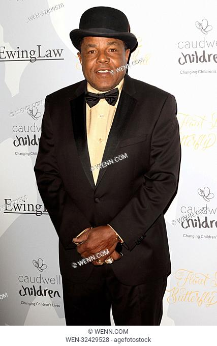 Floats Like A Butterfly Ball held at the Grosvenor House Hotel Park Lane, London Featuring: Tito Jackson Where: London, United Kingdom When: 06 Oct 2017 Credit:...
