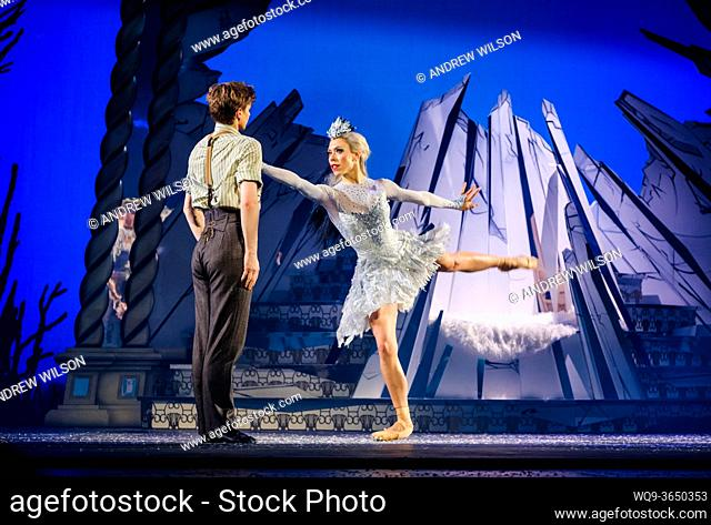 A scene from Scottish Ballet's spectacular world premier production of The Snow Queen