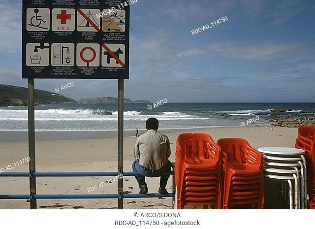 Beach Costa da Morte Malpica Galicia Spain