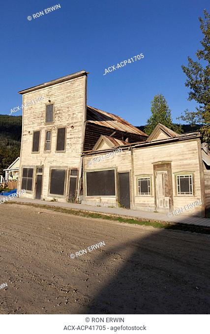 3rd Avenue Complex of the Dawson Historical Complex National Historic Site of Canada, Yukon, Canada