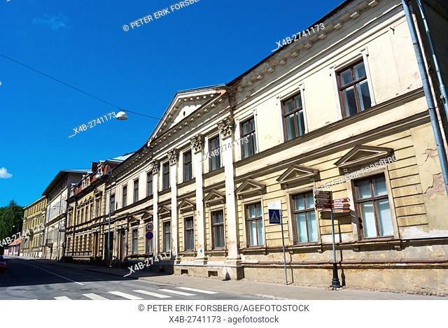 Lai street, old town, Tartu, Estonia, Baltic States, Europe
