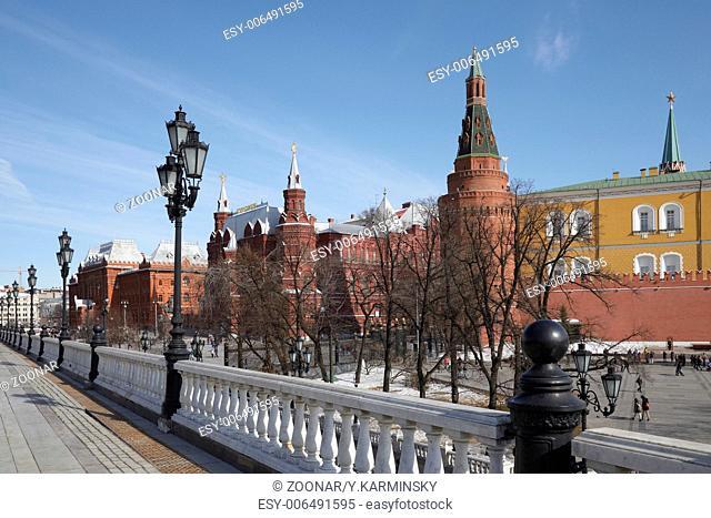 Moscow Kremlin. Russia