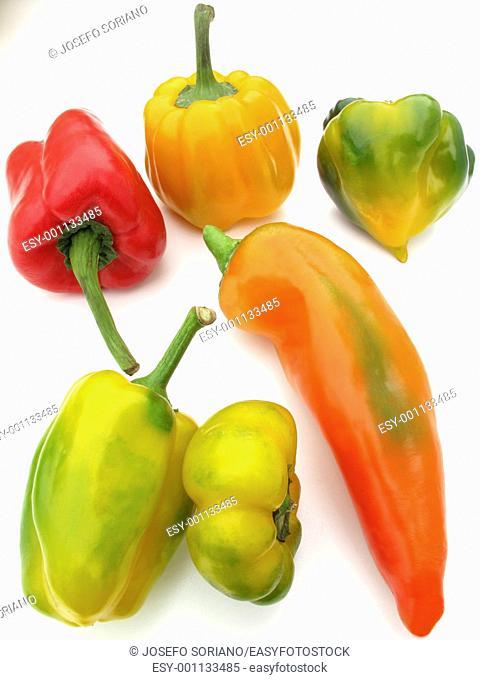 Peppers Capsicum anuum