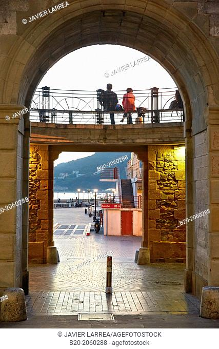 Parte vieja. Old town. Donostia. San Sebastian. Basque Country. Spain