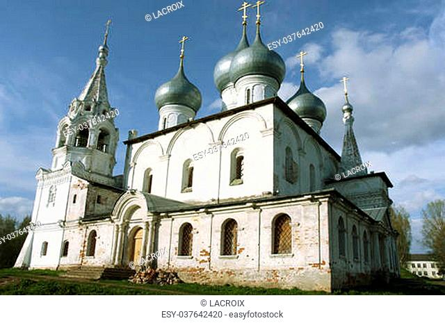 Cathedral of the Exaltation of the Holy Cross in Tutaev. Russia