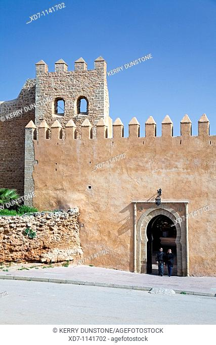 Morocco Rabat Entrance to Kasbah des Oudaias