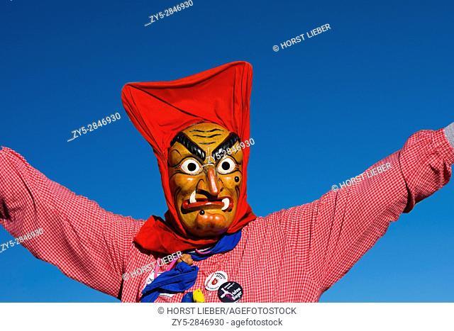 Swabian-Alemannic carnival Fasnet in South Germany-Germany, Europe