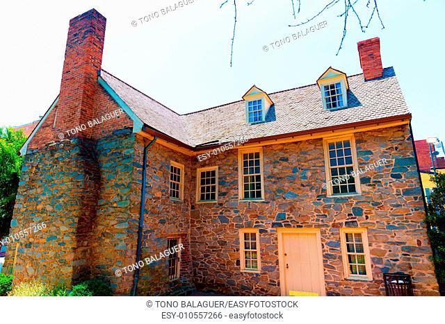Georgetown Old Stone House in Washington DC USA